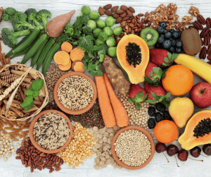 Fibre can help keep your digestive system healthy.